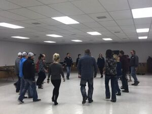 Picture of adult dance lessons